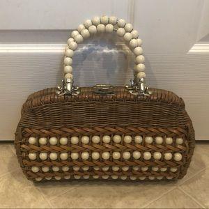Handbags - Vintage Wicker Purse